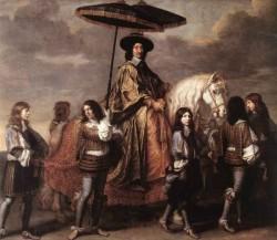 Chancellor Seguier At The Entry Of Louis XIV Into Paris In 1660