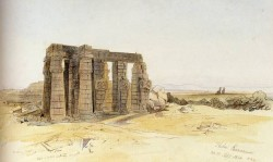 The ramessum Thebes
