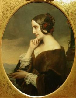 Portrait de Marie d Agoult
