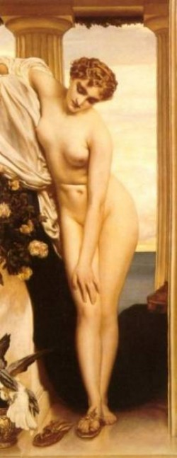 Venus Disrobing for the Bath 1866 7