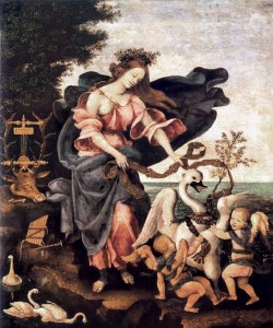 Allegory of Music or Erato c1500