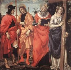 Four Saints Altarpiece c1483