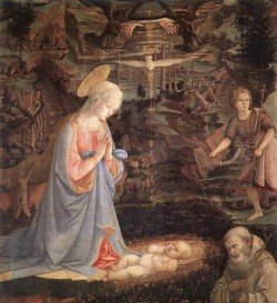 Adoration Of The Child With Saints 1463