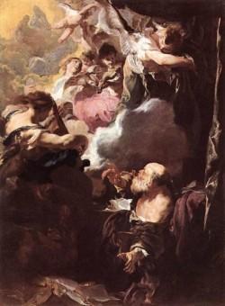 The Ecstasy Of St Paul