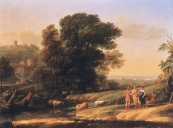 Landscape with Cephalus and Procris Reunited by Diana WGA