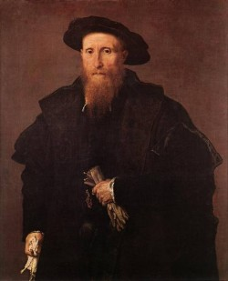 Gentleman with Gloves c1543
