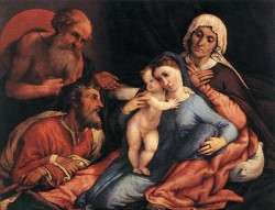 Madonna and Child with Saints 1534