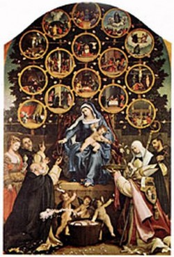 Madonna of the Rosary 1539