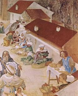 Stories of St Barbara 1524 detail1