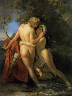 The Nymph Salmacis And Hermaphroditus