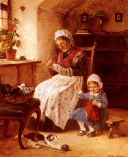 The Sewing Lesson
