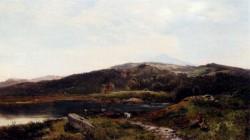 Llyn y Ddinas North Wales