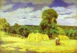 Harvest at montgoucault 1876 xx paris france