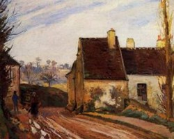 Homes near the Osny 1872