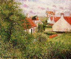 Houses at Knocke Belgium 1894