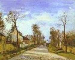 La route de versailles a louveciennes 1870 xx williamson ma usa