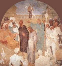 Christ before pilate 1523 25 xx certosa galuzzo