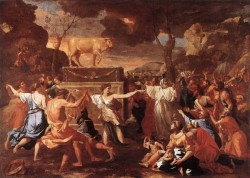 Adoration of the golden calf EUR