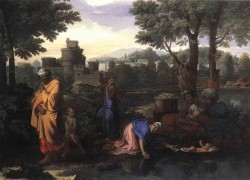Poussin The Exposition of Moses