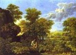 The spring adam and eve in paradise 1660 1664 xx paris france