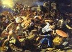 The victory of joshua over amorites 1624 1626 xx moscow russia
