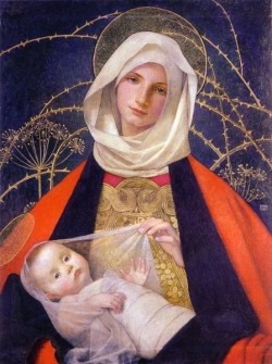 Preindelsberger Stokes Marianne Madonna and Child c1907