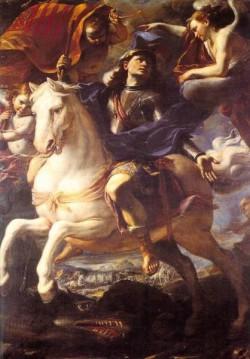 St George On Horseback