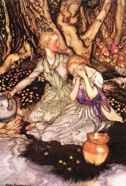 Goblin Market Down the glen tramp little men