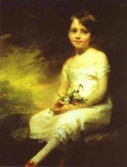 A little girl carrying flowers xx paris france