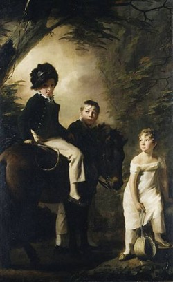 The Drummond Children ca 18089