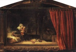 The Holy Family with a Curtain WGA