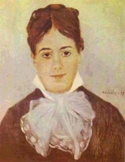A young woman 1875 xx museu de arte de sao paulo sao paulo