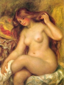 Bather with Blonde Hair