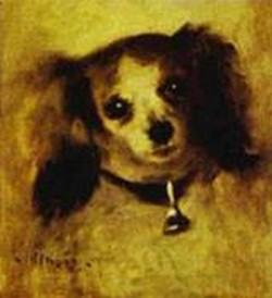Head of a dog 1870 xx national gallery of art washington