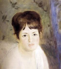 Renoir Auguste Head Of A Woman