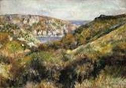 Hills around the bay of moulin huet guernsey 1883 xx metropolitan museum of art new york