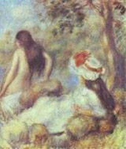 The bathing 1894 xx private collection