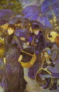 The umbrellas 1883 xx national gallery london
