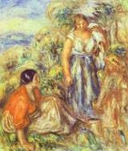 Two women and a child 1912 xx private collection