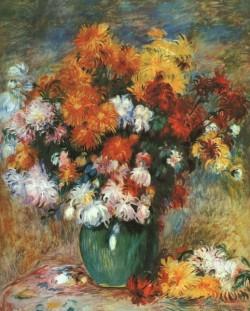 Vase of Chrysanthemums CGF