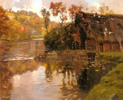 Cottage By A Stream