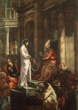Tintoretto Christ before Pilate