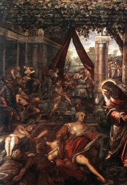 Tintoretto La Probatica Piscina