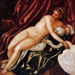 Tintoretto Leda and the swan