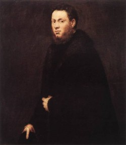 Tintoretto Portrait of a Young Gentleman