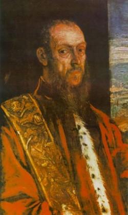 Tintoretto Portrait of Vincenzo Morosini