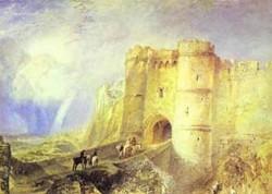 Carisbrook castle isle of wight 1828 uk