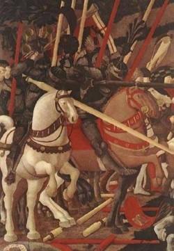 Bernardino della ciarda thrown off his horse detail 1 1450s xx galleria degli uffizi florence