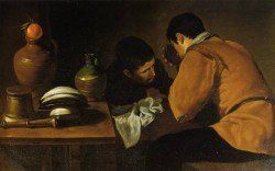 Diego Two Young Men at a Table
