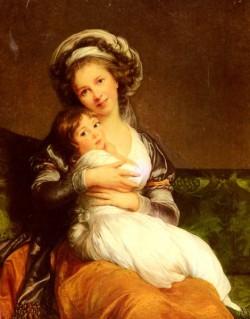 Madame Vigee Lebrun Et Sa Fille